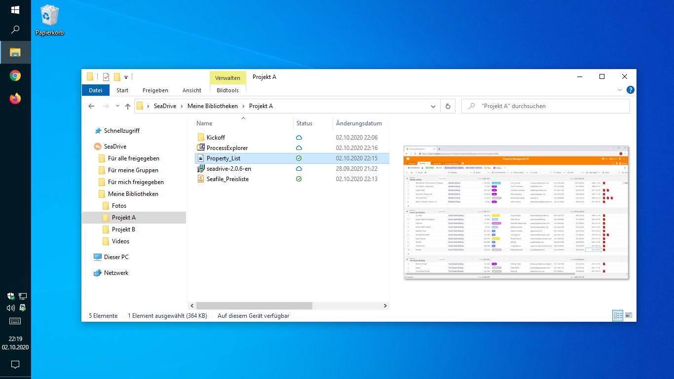 SeaDrive 2.0 erlaubt den direkten Dateizugriff über den Windows Explorer